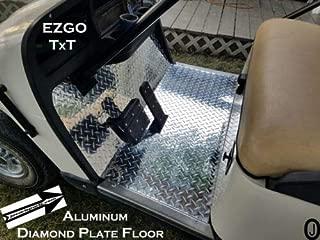 Ezgo TXT Golf cart Diamond Plate Floor