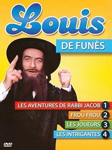Louis de Funes coffret 4 DVD : Les Aventures de Rabbi Jacob / Frou Frou / Les Intrigantes / Les Joueurs