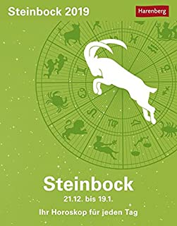 Steinbock - Kalender 2019: Ihr Horoskop für jeden Tag