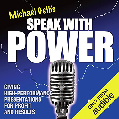 Speak with Power audiobook cover art