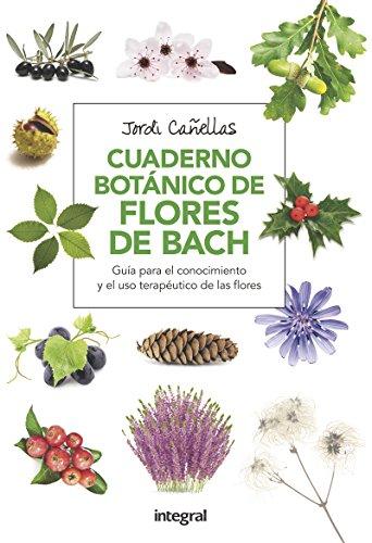 Cuaderno botánico de Flores de Bach (SALUD)
