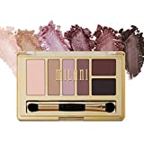 Milani Everyday Eyes Eyeshadow Palette - Romantic Mattes (0.21 Ounce) 6 Cruelty-Free Matte or Metallic Eyeshadow Colors to Contour & Highlight