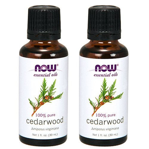 Now Foods Cedarwood Oil 1 ounce (Pack of 2) (Oil Now Foods)