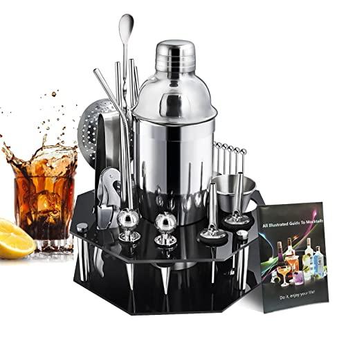 Surmounty Cocktail Set 24Pcs Shaker Set,...