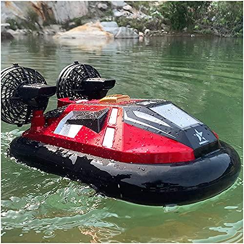 2,4 g, hovercraft anfibio multifunzionale a 4 canali, motoscafo estivo, compleanno natalizio per bambini