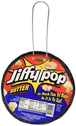 Jiffy Pop Butter Popcorn, 4.5 oz (Pack of 3)