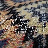 Paco Home In- & Outdoor Teppich Modern Zickzack Muster Terrassen Teppich Bunt, Grösse:60x100 cm - 2