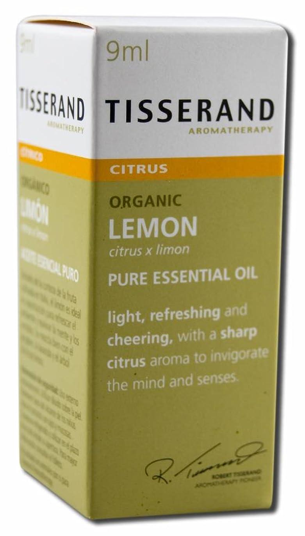 待つペパーミント膜ロバートティスランド ピュアエッセンシャルオイル レモン 9ml (オーガニック)