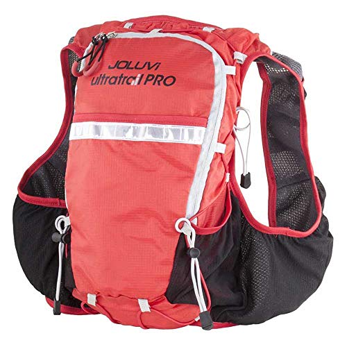 Joluvi Chaleco Ultratrail Pro Running 10L con Bolsillos para softflask