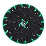 Wabrasive Disco de lijado aspirante de polvo de 150 mm, rosca de conexión M8, para la mayoría de lijadoras excéntricas de 150 mm, como lijadora orbital Makita y lijadora excéntrica Festool.