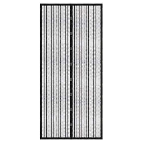 Vegena Zanzariera Magnetica per Porte, 210x100CM Resistente Traspirante Tenda Zanzariere Ingresso Cortile Anti Insetti Rete di Ottima Qualità Chiusura Automatica Impedendo Agli Insetti Entrare
