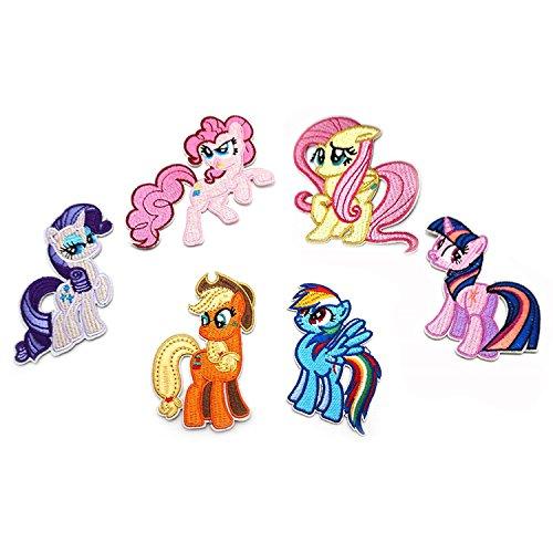 Mi pequeño Pony Parches Ropa Termoadhesivos infantiles Apliques para jeans