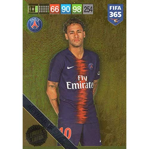 PANINI ADRENALYN XL FIFA 365 2019 – Neymar Jr Limited Edition card
