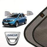 Cortinillas Parasoles Coche Laterales Traseras a Medida para Dacia Sandero Stepway (2) (2013-2016) Hatchback 5 Puertas