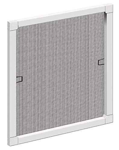 Schellenberg 50786 - Mosquitera para ventana (120 x 150 cm), color blanco