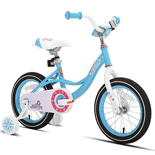 JOYSTAR 16 Inch Kids Bike with Training...