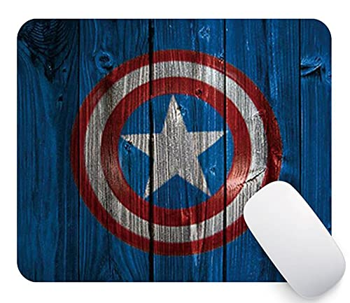 Banatree Marvel Heroes Mouse Pad, Captain Hero Medium, America