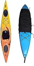 GYMTOP 2.3x3.94ft Waterproof Kayak Cockpit Cover Drape - Universal Fit for Sundolphin Pelican Kayak UV Protection Sunblock Dustproof Cockpit Cover