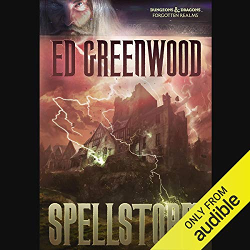 Spellstorm audiobook cover art