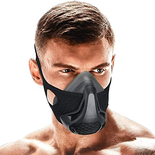 SATKULL Training Mask24 Breathing Resistance Levels Fitness Mask Workout MaskTraining in High Altitude Mask Gym Mask for Cardio Fitness Running HIIT Training