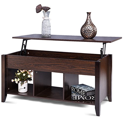 Lift Top Coffee Table W/Hidden Compartment...