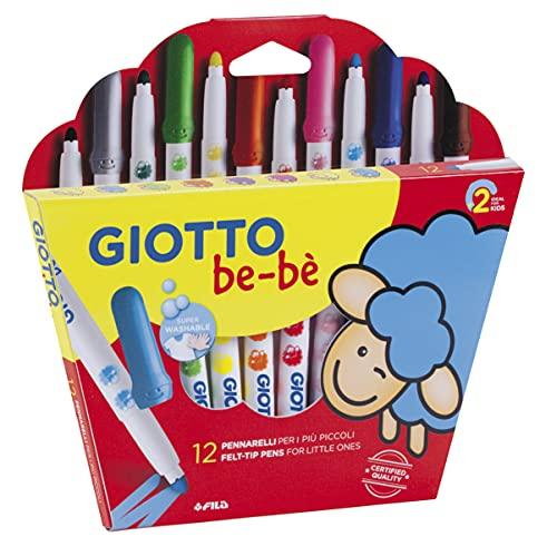 Giotto Be-Bè Súper Rotuladores Estuche 12 Uds