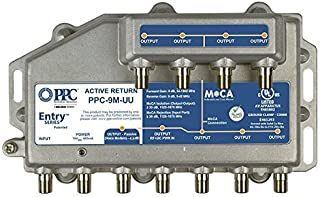 PPC Entry Series Active Return 9-Port MoCA Amplifier Model: PPC-9M-U/U