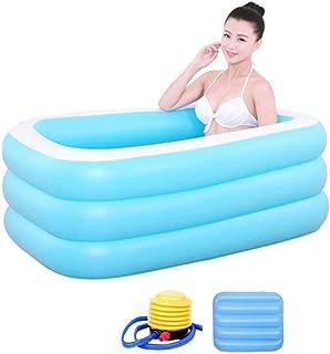 LBYMYB Oversized Domestic Bathtub Adult Tub Couple Inflatable Bathtub Bathtub (Size : 1.5m Ordinary Models - Electric Pump)