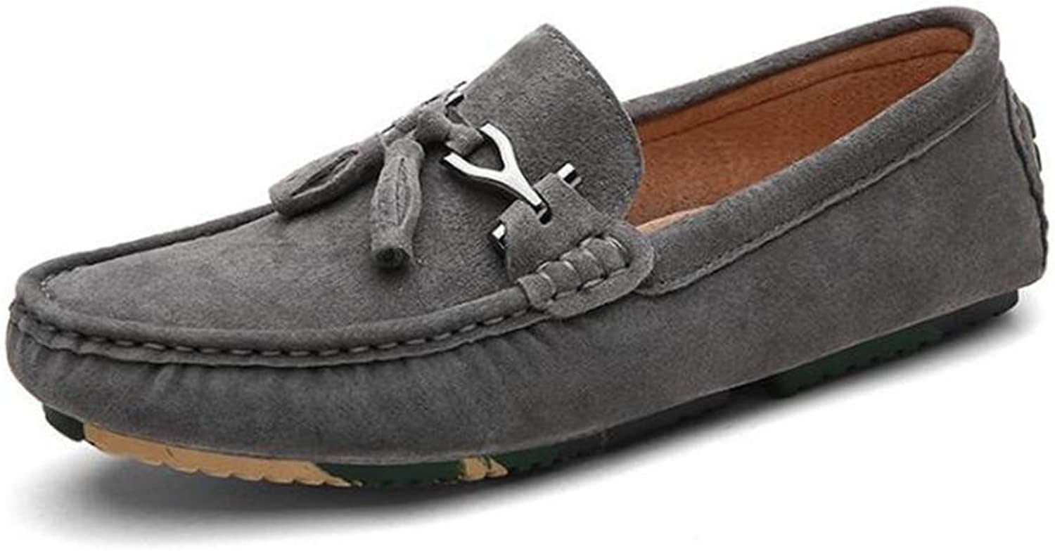 Men shoes Genuine Leather Comfort Office & Career Loafers Mocassin Lightweight Driving Size 38To 43