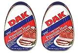 DAK Premium Ham, Fully Cooked, 16 oz. (Pack of 2)