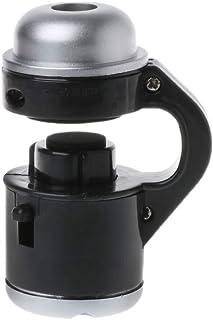 BIlinli 1pc Universal 30X Zoom óptico Microscopio para teléfono móvil LED Clip Micro Lente Telescopio Lupa