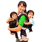 TwinGo Original Baby Carrier- Separates to 2 Single Carriers. Compact,...