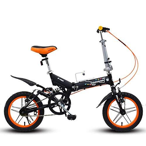 Bicicleta plegable para hombres y mujeres, Mini bicicleta de montaña plegable de...