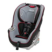This Graco convertible car seat is designed to help protect your rear-facing infant from 5 - 40 pounds; and your forward-facing toddler from 20-65 pounds Simply Safe Adjust Harness System is safe and simple with a one-hand, no re-thread harness that ...