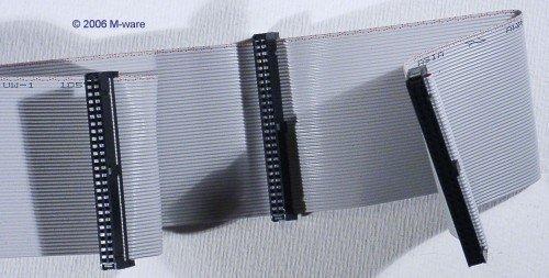 Unbekannt SCSI-2-Kabel intern 50-polig 3 Abgriffe ID101