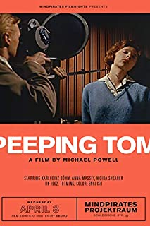 Erthstore 11x17 inch Wall Poster of Peeping Tom 1960 by Michael Powell German Artwork