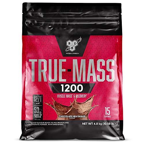 puissant BSN True Mass 1200 – Milkshake au chocolat, 15 portions – Gainer – Protéine en poudre…