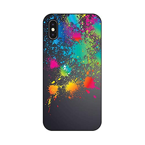 EREMITI JEWELS Cover Personalizzata Schizzo di Vernice Paint Sketch Smartphone 5 5C 6 6S 6 Plus 6S Plus 7 7PLUS 8 8PLUS X (iPhone 8)