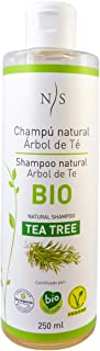 Nirvana Spa Champú Natural Árbol de Té 250 ml Pack de 1