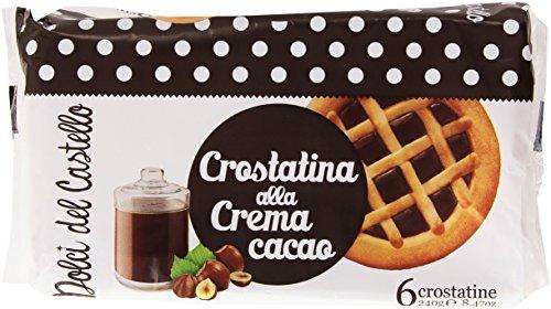 Dolci del Castello - Crostatina alla Crema Cacao - 240 g