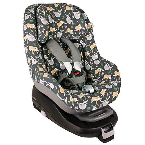 Fundas Para Sillas de Algodón Oeko-Tex para Silla de Coche Maxi Cosi Pearl y 2 Way Pearl Funda Silla Garantiza la Comodidad de la Piel del Bebé y Ayuda a no Sudar La pereza