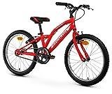 Anakon Hawk One Bicicleta Infantiles, niño, Rojo, 6-9 años