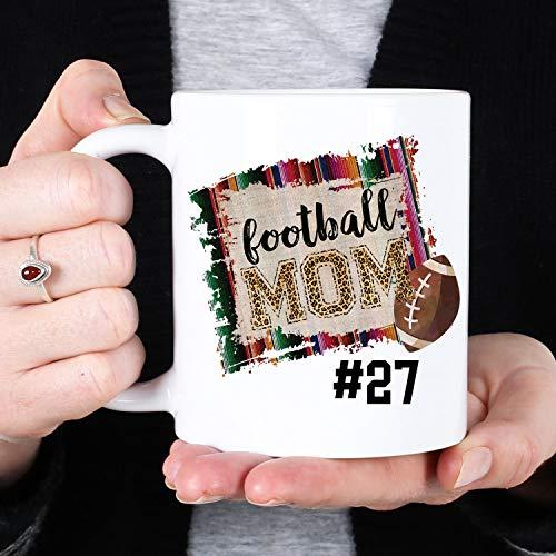 Betsy34Sophia keramische koffiemok voetbal-mamma speciaal gemaakt voetbal-mamma-beker mammasport-beker moederdaggeschenk mammageschenk voetbal-koffiemok