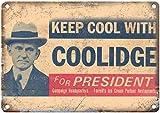 Toll2452 Calvin Coolidge Campaign Poster Thema 20,3 x 30,5
