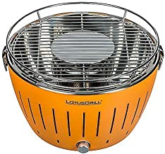 Lotus Grill - New Model 2019 - Barbecue with Batteries and USB Power Cable - Orange