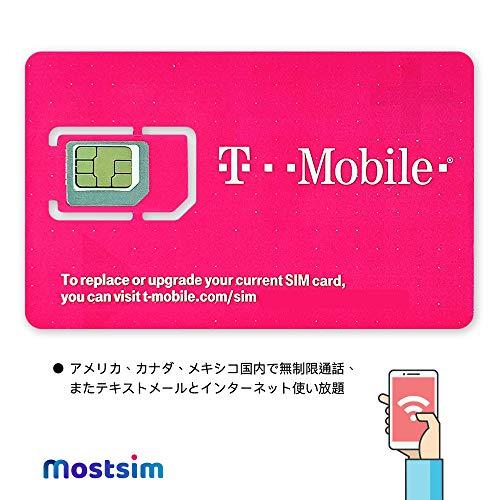 Carta Sim Prepagata USA, Canada & Messico - 20GBin 4G LTE - Chiamate e messaggi internazionali - 30 Giorni