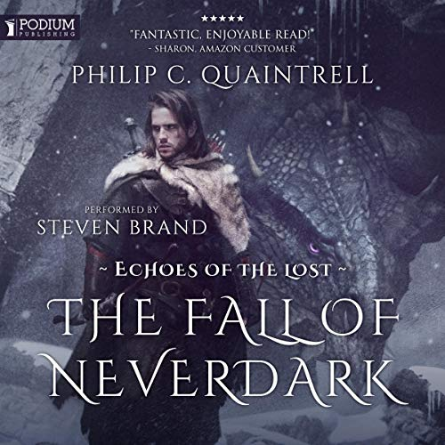 The Fall of Neverdark audiobook cover art