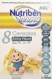 Nutribén Papillas Innova 8 Cereales Extrafibra, Desde Los 5 Meses, 600g