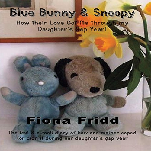 Blue Bunny & Snoopy audiobook cover art