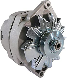DB Electrical ADR0152 Alternator For 1 Wire Universal Self-Excited 10Si 10 Si 63 Amp/Internal Regulator/Negative Polarity/External Fan / 10459509, 90-01-3125, 90-01-3125S, 70-01-7127SE